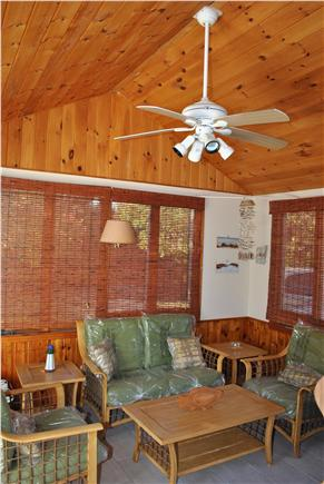 Eastham Cape Cod vacation rental - Master bedroom sitting area with flat screen TV