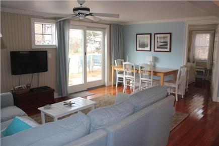 Eastham Cape Cod vacation rental - Living room / dining room combo