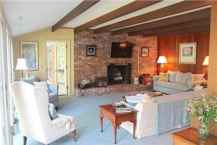 Orleans Cape Cod vacation rental - Living room with flat screen TV