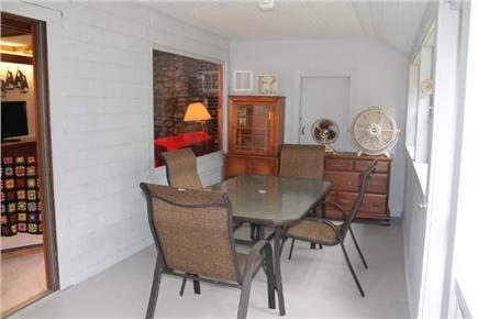 Eastham Cape Cod vacation rental - Three season room with extra dining area