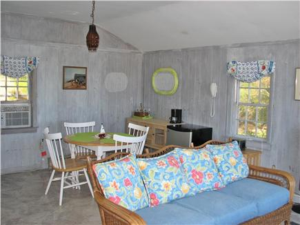 Wellfleet, Lt Island Cape Cod vacation rental - Dining living area in the in law cottage