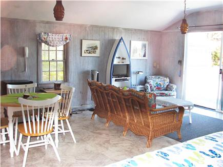 Wellfleet, Lt Island Cape Cod vacation rental - Living Room in the in law cottage