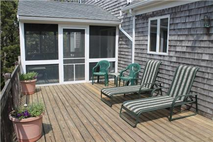 Eastham Cape Cod vacation rental - Screened porch off deck