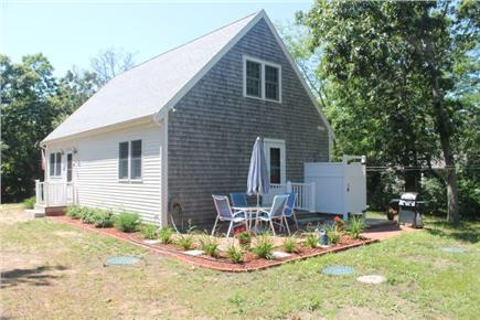 Eastham Cape Cod vacation rental - Patio and outdoor shower