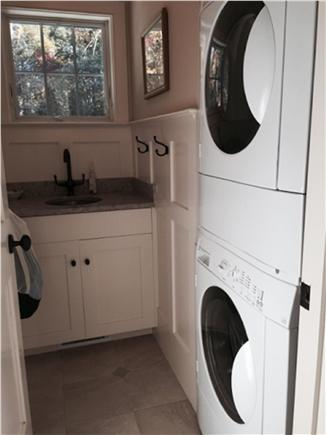East Orleans Cape Cod vacation rental - View of Laundry Room from Foyer