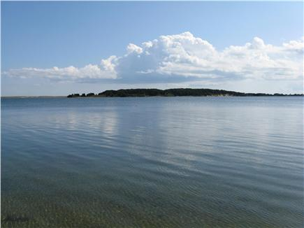 East Orleans Cape Cod vacation rental - View from our beach toward Sampson Island