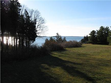East Orleans Cape Cod vacation rental - Walk toward stairs down to our beach
