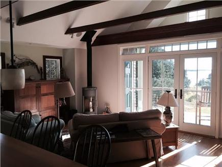 East Orleans Cape Cod vacation rental - View of Family Room from Kitchen