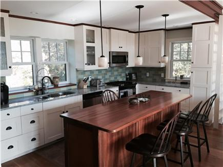 East Orleans Cape Cod vacation rental - View of Kitchen From Family Room