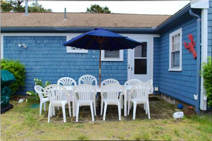 South Yarmouth Cape Cod vacation rental - One of two outside patio areas