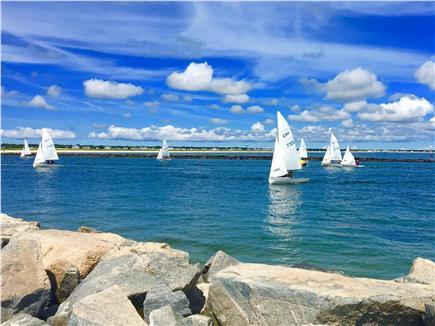 South Yarmouth Cape Cod vacation rental - Fishing and Sailing at Bass River Beach