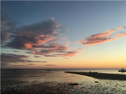 Eastham Cape Cod vacation rental - The sunset puts on a show every night on the bay!