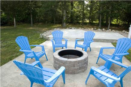 West Yarmouth Cape Cod vacation rental - Fire Pit