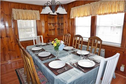 West Yarmouth Cape Cod vacation rental - Spacious dining room seats 8