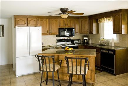 West Yarmouth Cape Cod vacation rental - Fully equipped kitchen with island for 2