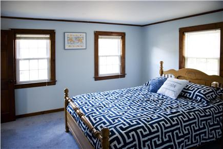 West Yarmouth Cape Cod vacation rental - Bedroom 1 with queen size bed and closets.