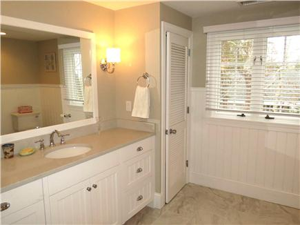 North Chatham Cape Cod vacation rental - Oversized Additional 2nd Floor Bath with Tub & Shower