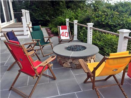 North Chatham Cape Cod vacation rental - Hang Out By the Gas Fire Pit