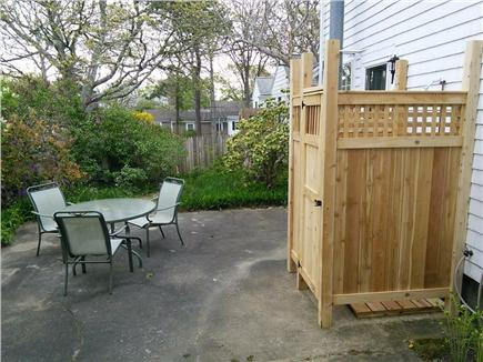 Dennis Port Cape Cod vacation rental - New Outdoor shower and patio.
