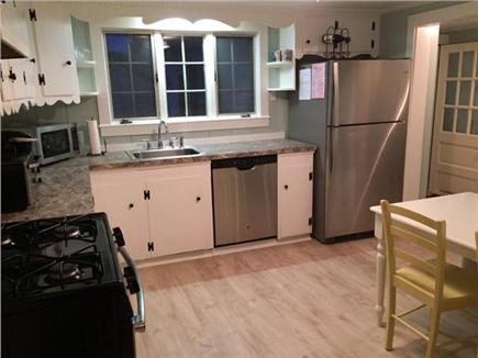 Dennis Port Cape Cod vacation rental - Refinished kitchen with new appliances.