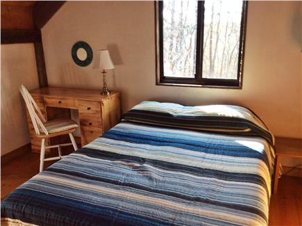 Wellfleet Cape Cod vacation rental - Upstairs full bedroom with two windows and air conditioner