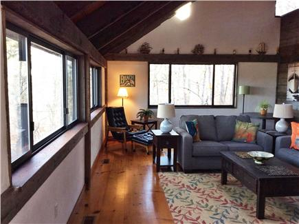 Wellfleet Cape Cod vacation rental - Looking at living room from dining room