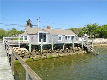 Pleasant Bay, South Orleans Cape Cod vacation rental - View of entire house from end of dock