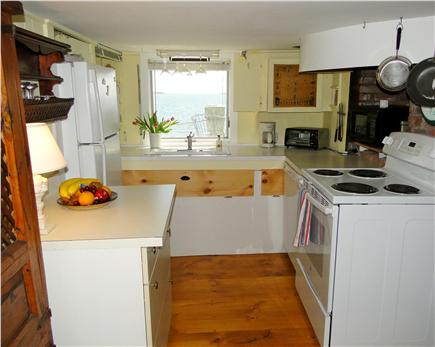 Pleasant Bay, South Orleans Cape Cod vacation rental - Fully-equipped galley kitchen with more water views
