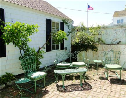 Pleasant Bay, South Orleans Cape Cod vacation rental - Patio area with grill