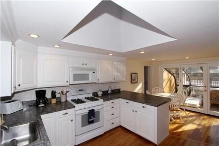 Brewster Cape Cod vacation rental - Fully equipped kitchen with dining space