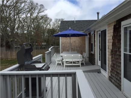 Chatham Cape Cod vacation rental - Large deck with BBQ grill and dining area