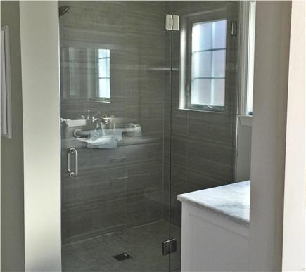 Chatham Cape Cod vacation rental - Master Bathroom with roll-in shower