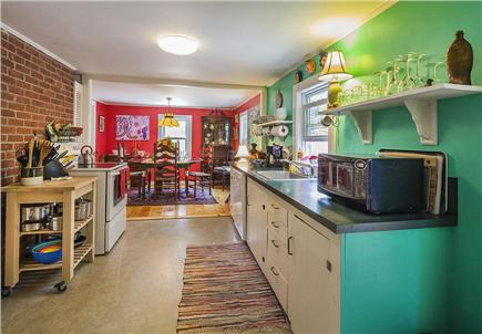 Wellfleet Cape Cod vacation rental - Kitchen fully equiped for cooking.