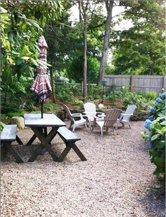 Brewster Cape Cod vacation rental - Side Patio