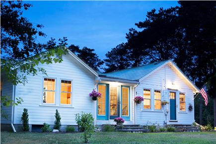 Hyannis Cape Cod vacation rental - Beach Glass Cottage at sunset