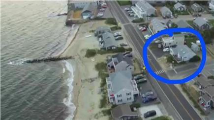 Dennis Port Cape Cod vacation rental - Aerial view of location