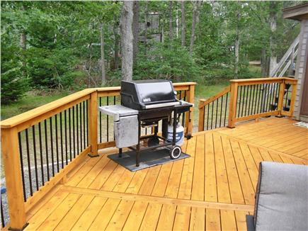 Eastham Cape Cod vacation rental - Weber gas grill on deck