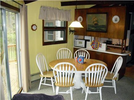 Eastham Cape Cod vacation rental - Dining area with sliders to deck