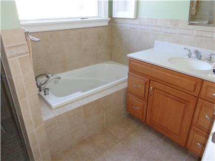 West Yarmouth Cape Cod vacation rental - Second Bath with Jacuzzi tub and shower