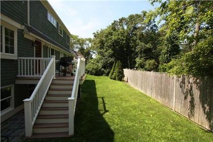 West Yarmouth Cape Cod vacation rental - Backyard with deck