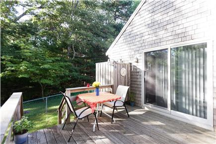 Orleans Cape Cod vacation rental - Morning sun with your coffee and afternoon shade after the beach
