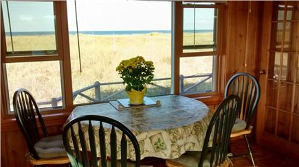 Sagamore Beach Sagamore Beach vacation rental - Dining room table, seats 6 when both sides extended