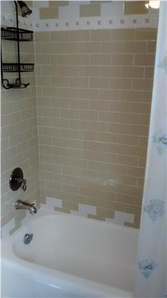 Sagamore Beach Sagamore Beach vacation rental - Downstairs bathroom, shower/tub