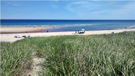 Sagamore Beach Sagamore Beach vacation rental - Summer sandbar, dune path in front of the house