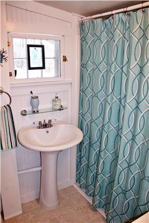 West Dennis Cape Cod vacation rental - Full size shower and tub