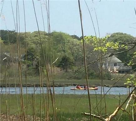 West Dennis Cape Cod vacation rental - Water-a stone's throw from the deck!