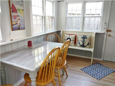 West Dennis Cape Cod vacation rental - Bright and sunny kitchen with plenty of seating