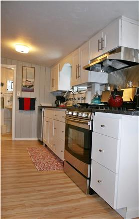 West Dennis Cape Cod vacation rental - All brand new appliances, new cabinets, clean and uncluttered