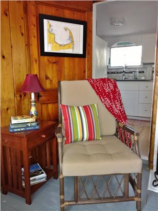West Dennis Cape Cod vacation rental - Cozy reading nook