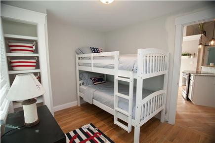 West Yarmouth Cape Cod vacation rental - Guest bedroom #3 with bunk beds for the kids (or adults).
